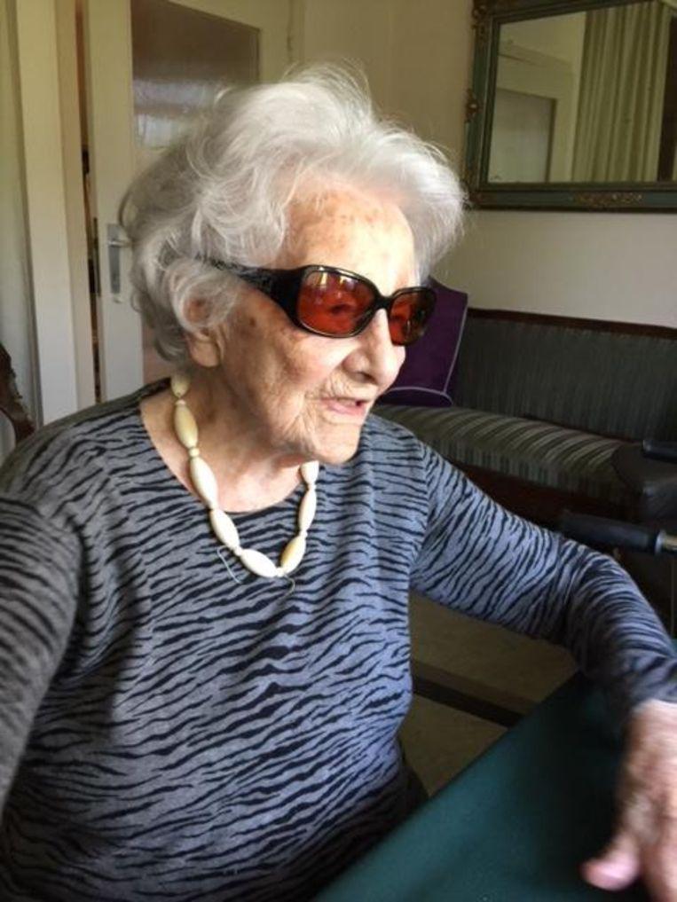Felicitas Van Oudenhove is de oudste Gentenaar en wil dat nog een tijdje blijven.