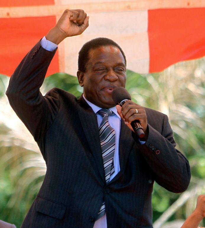 Wie is Emmerson Mnangagwa, de nieuwe opvolger van Mugabe.