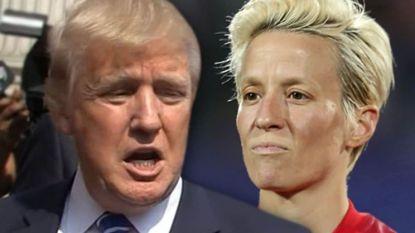"""Trump haalt uit naar voetbalkapitein die niet naar dat """"verdomde Witte Huis"""" wil"""