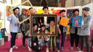 Schilderij 'Het Lam' teruggevonden in Serskamp tijdens kunstproject kleuters