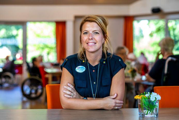 Chantal van den Brink(32), adviseur kwaliteit bij ZorgSpectrum.
