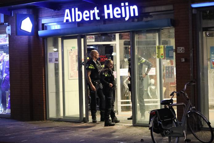 Albert Heijn overval Steijnlaan Den Haag