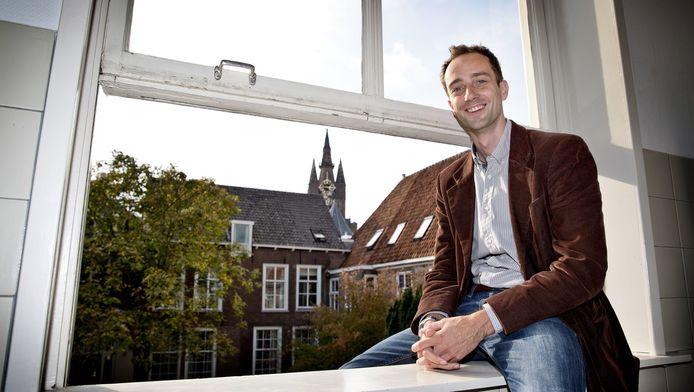 Eelke Eggink: 'Studenten met autisme kiezen vaak voor een technische studie.'