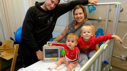 Meisje met zeldzame ziekte Skye (1 jaar) ontvangt broodnodige thuismonitor