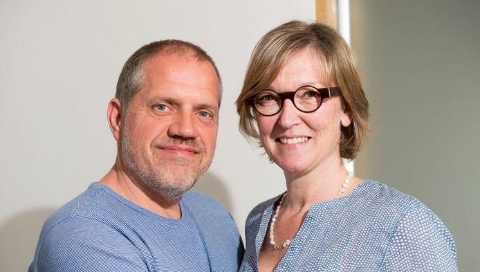 Johan Cornu en zijn vrouw Inge Van Welden.
