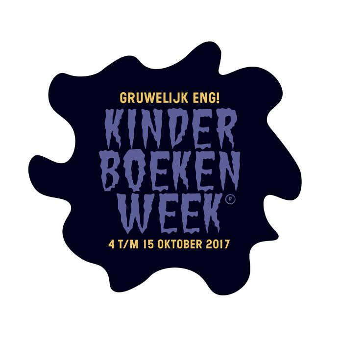 Het logo van de kinderboekenweek