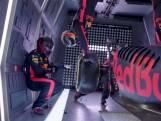 Red Bull voltooit eerste pitstop zonder zwaartekracht