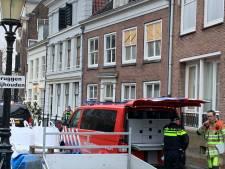 Breuk in gasleiding: hulpdiensten massaal naar Kromme Nieuwegracht