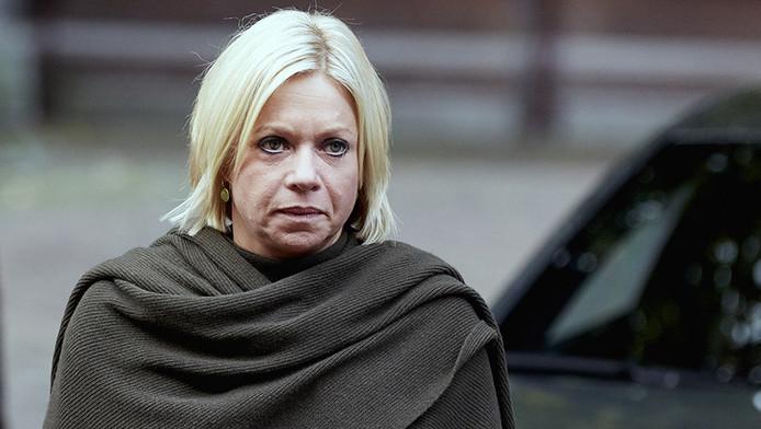 Minister Jeanine Hennis op het Binnenhof