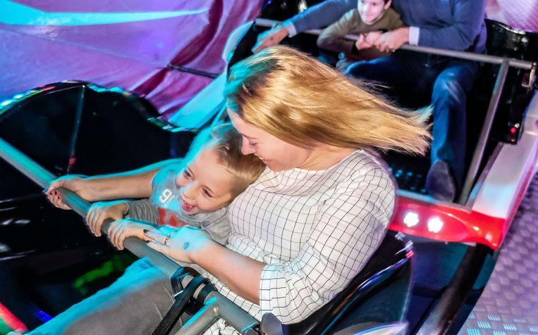 De kinderen kunnen er voor een entreeprijs van 15 euro gebruik maken van de attracties.