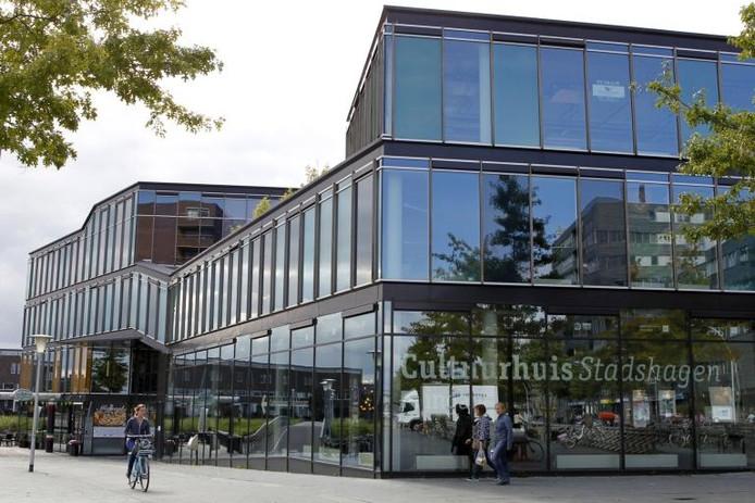 Cultuurhuis Stadshagen. archieffoto Sacha Wunderink