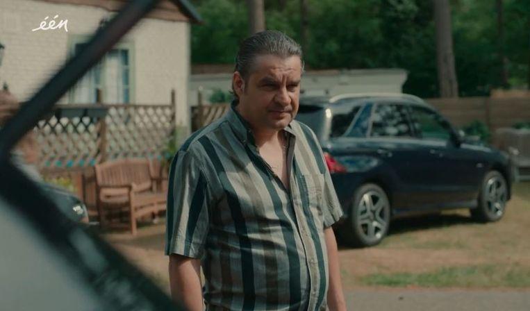 Frank Lammers in Undercover. Beeld Eén / Netflix