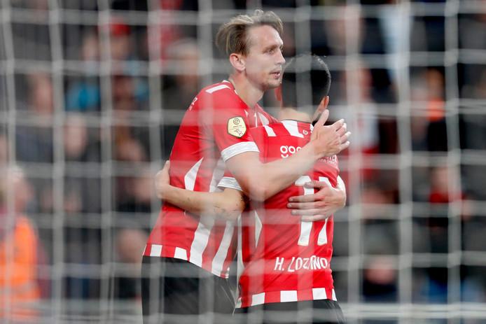 Luuk de Jong en Hirving Lozano waren vorig seizoen verantwoordelijk voor een groot deel van de productie van PSV.