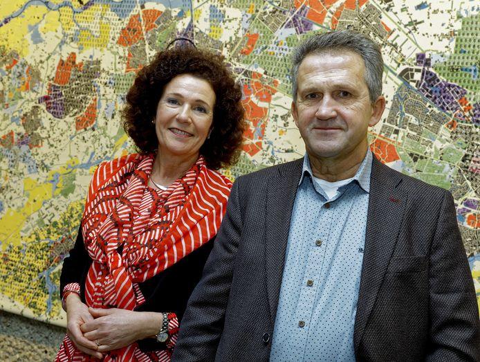 PVV'ers Rucphen Brigitte Clercx en Ad Vissenberg