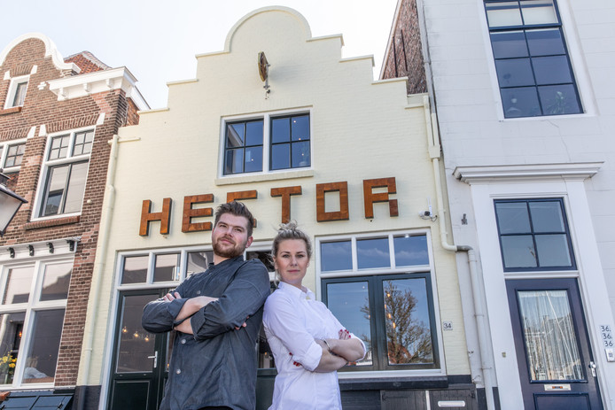 Maxim Leenpoel (l) en Lorette Heibers gaan hun succesformule ook beproeven in Zierikzee