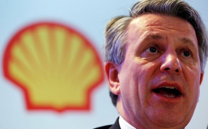 Shell-baas Ben van Beurden.