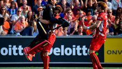 Red Lions overleven bloedstollende shoot-outs tegen stugge Duitsers en treffen Nederland in finale