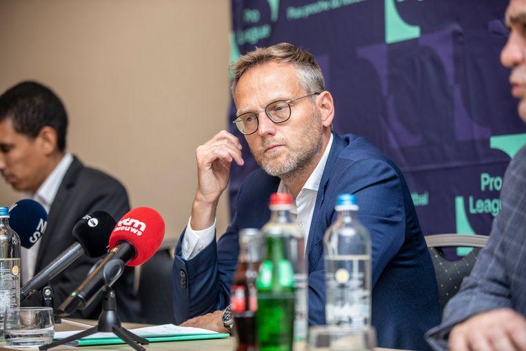 Pro League-voorzitter Peter Croonen.