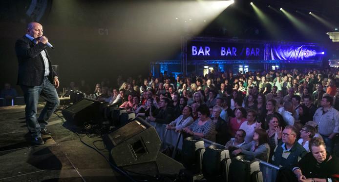 William Burg in 2015 tijdens een optreden in Den Bosch.