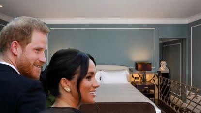BINNENKIJKEN. Harry en Meghan trokken naar Rome en verbleven in dit prachtige (en dure) hotel
