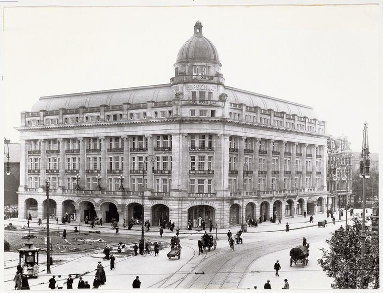 Hirschgebouw op het Leidseplein Beeld