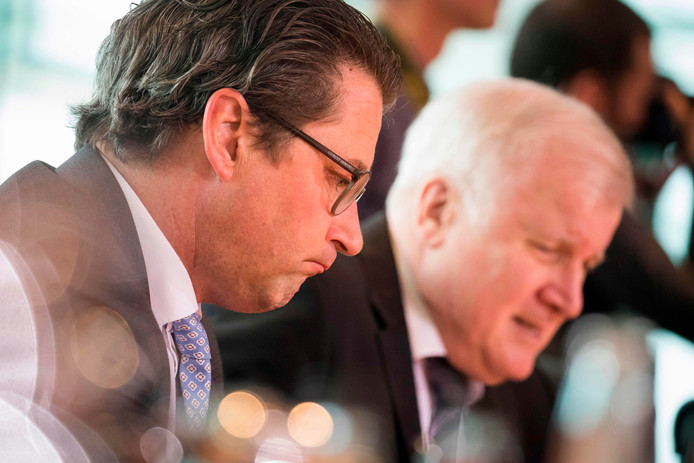 De Duitse verkeersminister Andreas Scheuer mag zijn tolheffing van Europa niet invoeren.