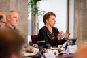 Annette Nijhuis (rechts) maakt samen met partijgenoot André Hendriks de overstap naar de nieuwe lokale partij Nieuw Haaksbergen