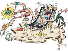 Telefoonloze vakantie in trek