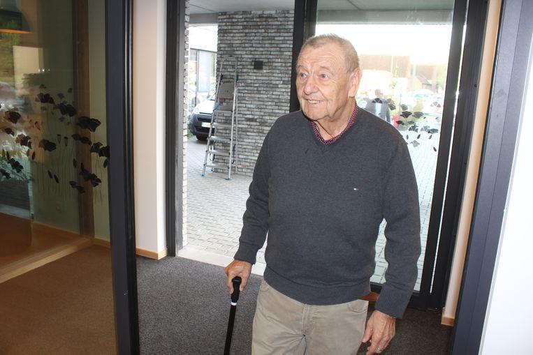 Marcel De Gols komt woonzorgcentrum Faluintjes binnen.