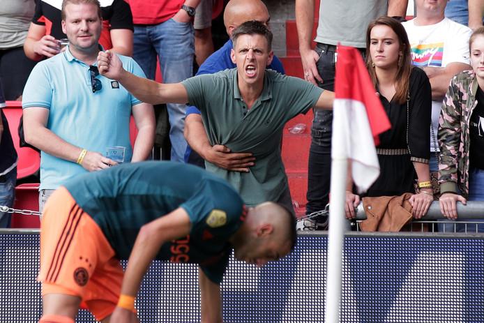 Een PSV-fan is woedend op Hakim Ziyech.