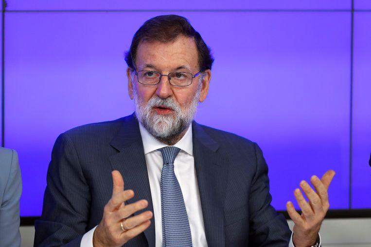 De Spaanse premier Mariano Rajoy.