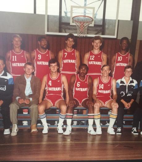 Basketbalhelden  Eugene Richardson en Ed 'Lace' Strong keren even terug naar Haaksbergen
