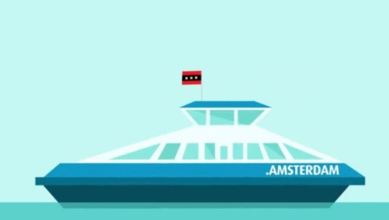 Een still uit de promotievideo over .Amsterdam Beeld Gemeente Amsterdam