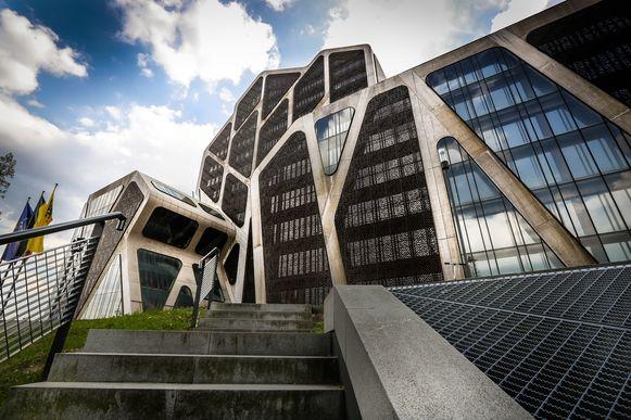 Het Hasseltse gerechtsgebouw.