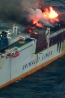 Gezonken autoschip van Grimaldi was bekende verschijning langs Zeeuwse kust