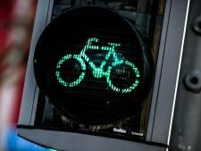 Speciale borden bij stoplicht: fiets niet door rood