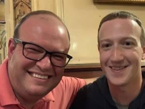 Le patron de Facebook repéré dans un célèbre bar bruxellois
