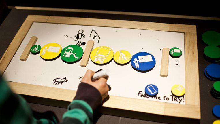 Een planbord voor kinderen met autisme Beeld anp