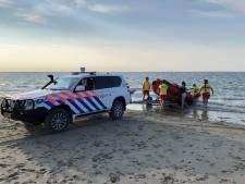 Reddingsactie opgezet voor op zandplaat ingesloten drietal