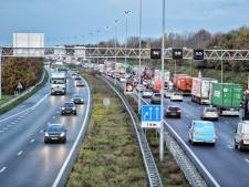 Ongeluk op A58 bij Oirschot, weg weer vrij