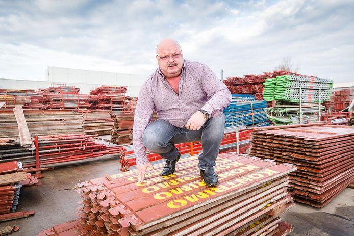 Michel Van den Brande, eigenaar van steigerbouw Kontrimo en vooral bekend van 'The Sky Is The Limit'.