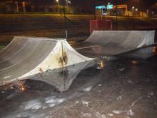 Brand gesticht in skatepark Vianen
