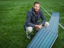 Kunstgrasvelden vangen zonne-energie met uitvinding van topvolleyballer Jelle Hilarius