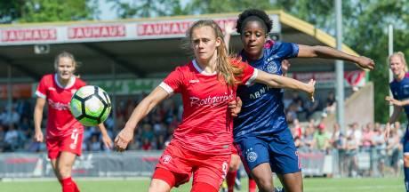 FC Twente Vrouwen boekt monsterzege in Groesbeek
