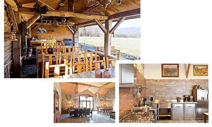 Villa met semiprofessionele keuken en gezellig terras (referentie: 105078-02)