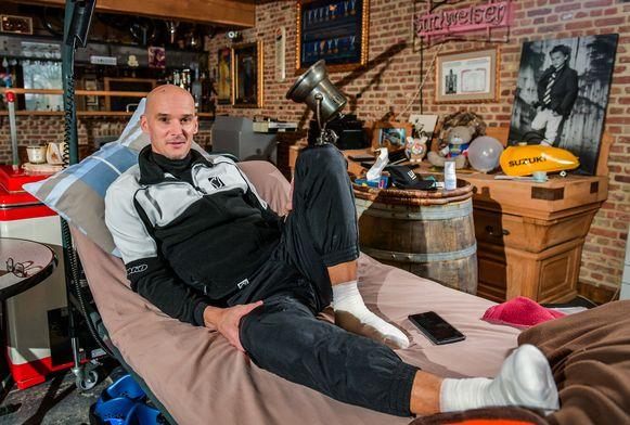 Het leven van motorcrosslegende Stefan Everts hing aan een zijden draadje nadat hij besmet raakte met malaria tijdens een bezoek aan Congo.