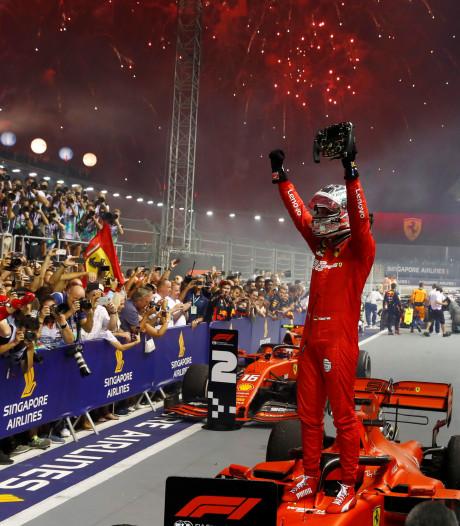 Vettel renoue avec la victoire à Singapour, le doublé pour Ferrari