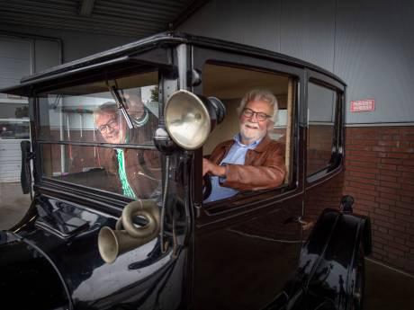 Per T-Ford naar Borculo: 'Net als opa na de stormramp'