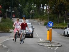 Veel te hard heuvel op gereden in Rhenen