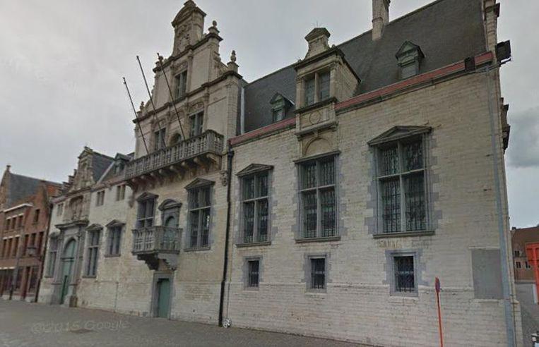 De rechtbank van Mechelen.